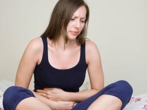 У девушки дисбактериоз кишечника