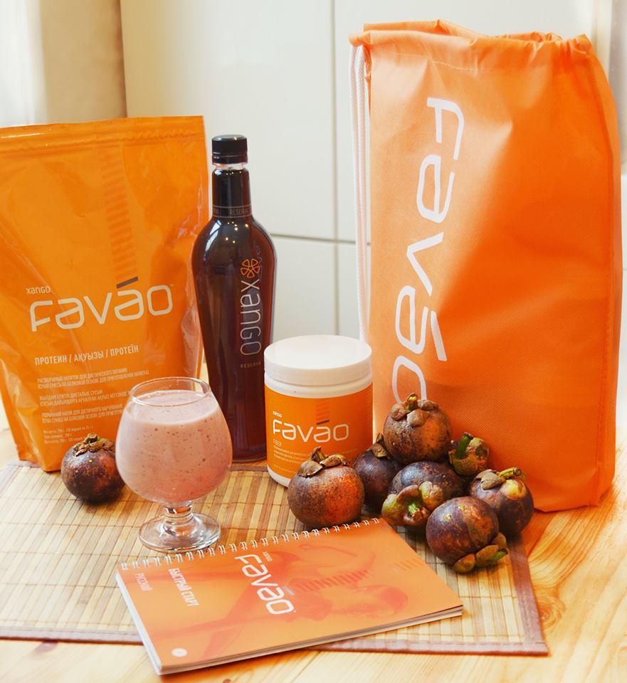Сок КСАНГО и система питания FAVAO фото