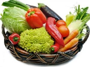 фото: овощи в карзине