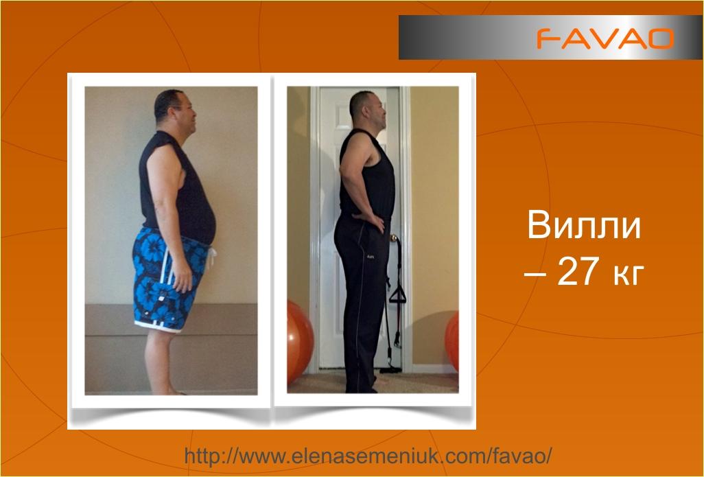 У мужчины был лишний вес и он похудел
