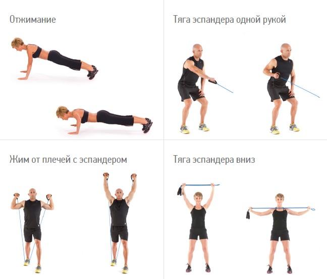 Физические упражнения для похудения (фото) — приборы паркес и.