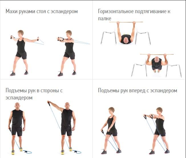 похудения физические для фото упражнения