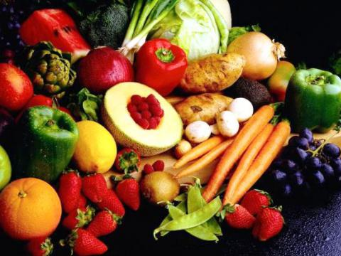 При диабете ешьте овощи и фркты