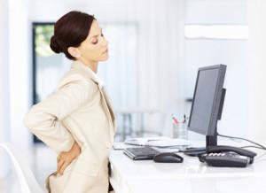 Боль в спине на работе