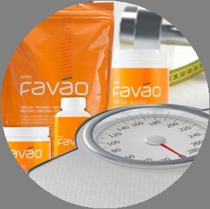 Фото продуктов и весов FAVAO