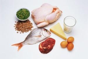 В этих продуктах содержится белок
