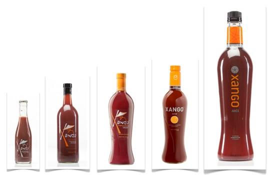 Так изменялась бутылка Ксанго в течение 12 лет