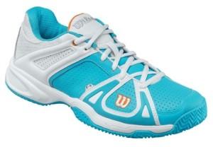голубые кроссовки для тенниса