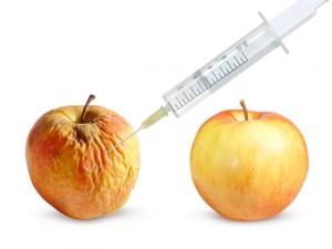 Окислительный стресс в яблоке